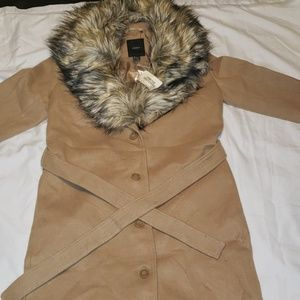 NWT FOREVER 21 LONG WINTER COAT